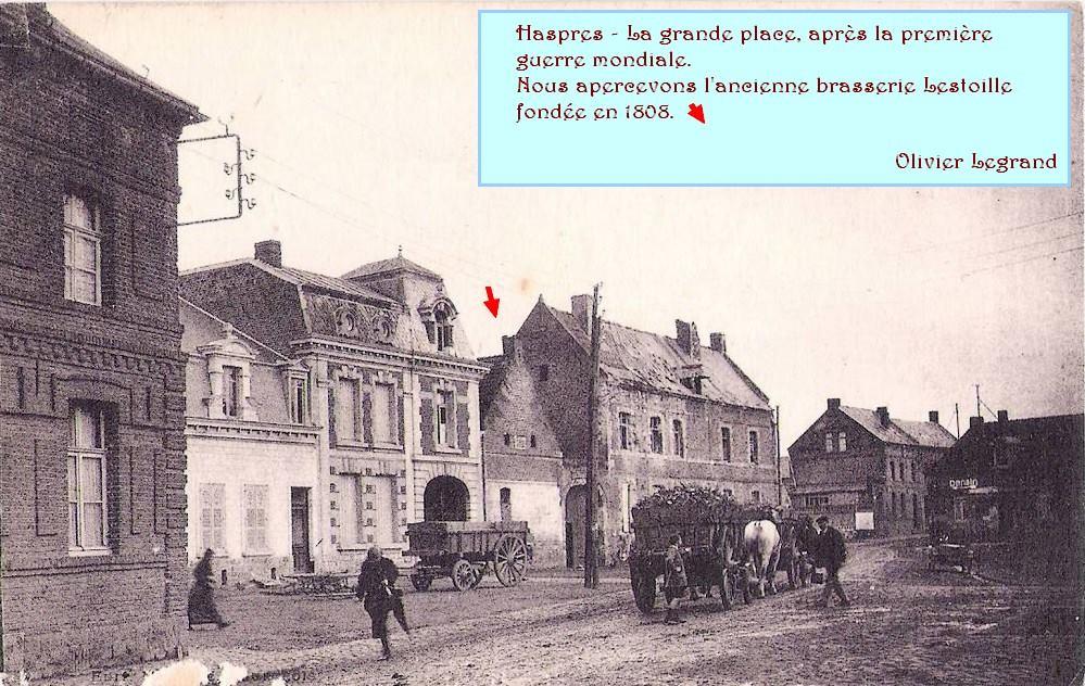 Haspres - La place Gabriel Péri