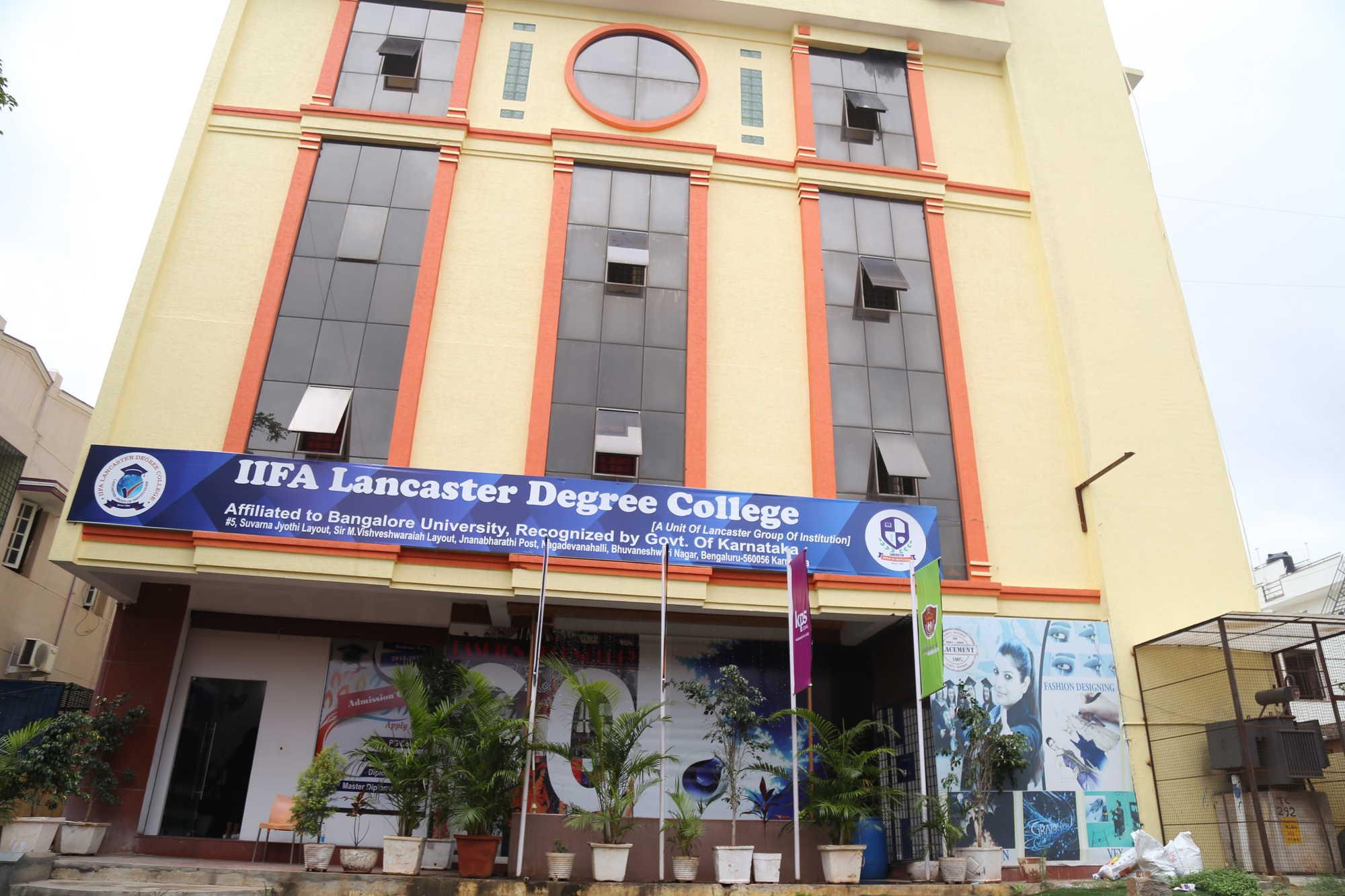 IIFA Lancaster Degree College, Bengaluru Image