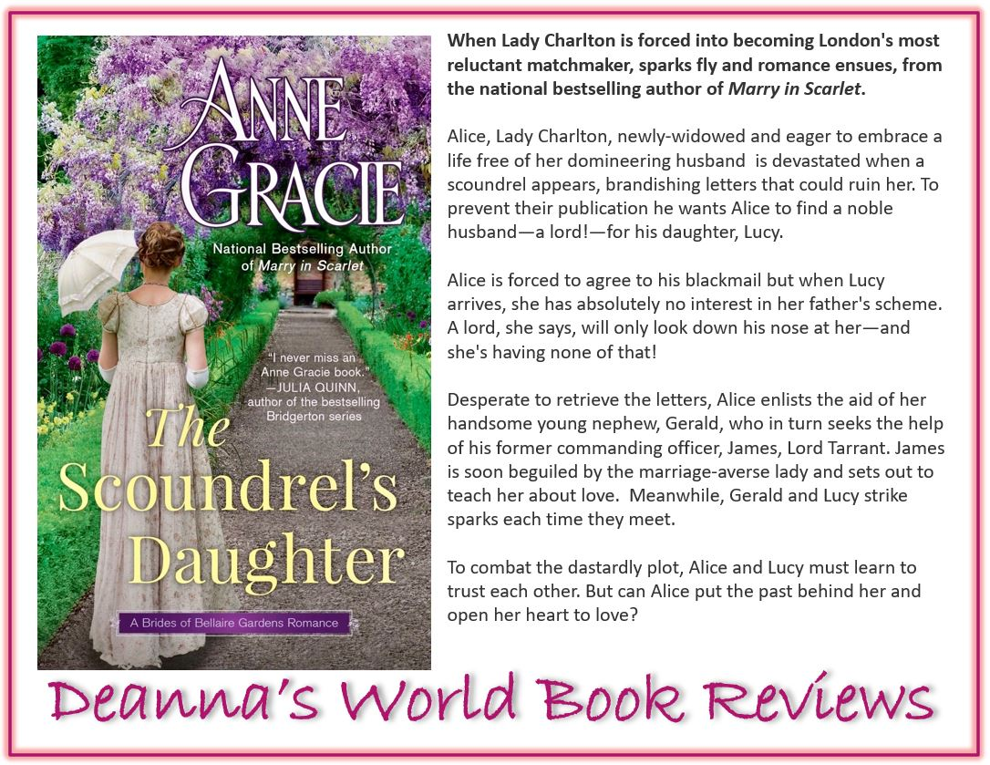 The Scoundrel's Daughter by Anne Gracie blurb