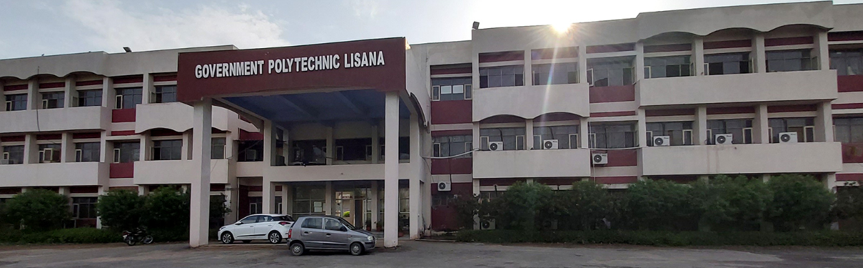 Government Polytechnic Lisana, Rewari