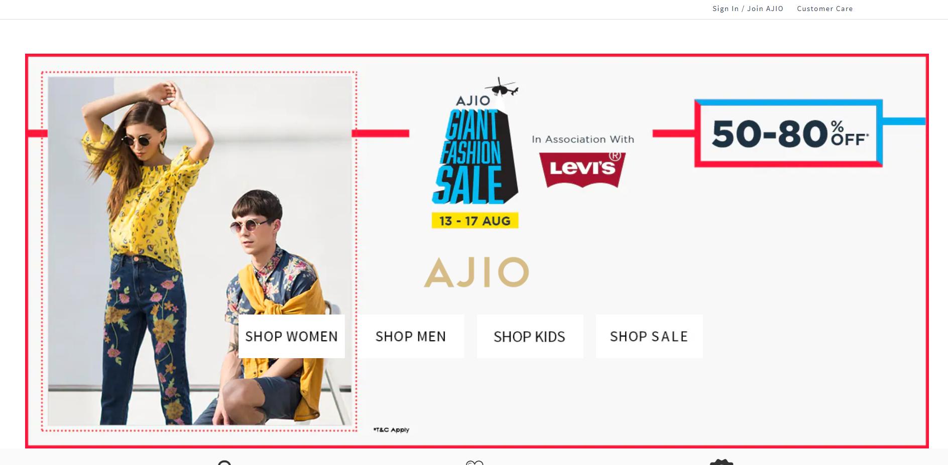 AJIO Store