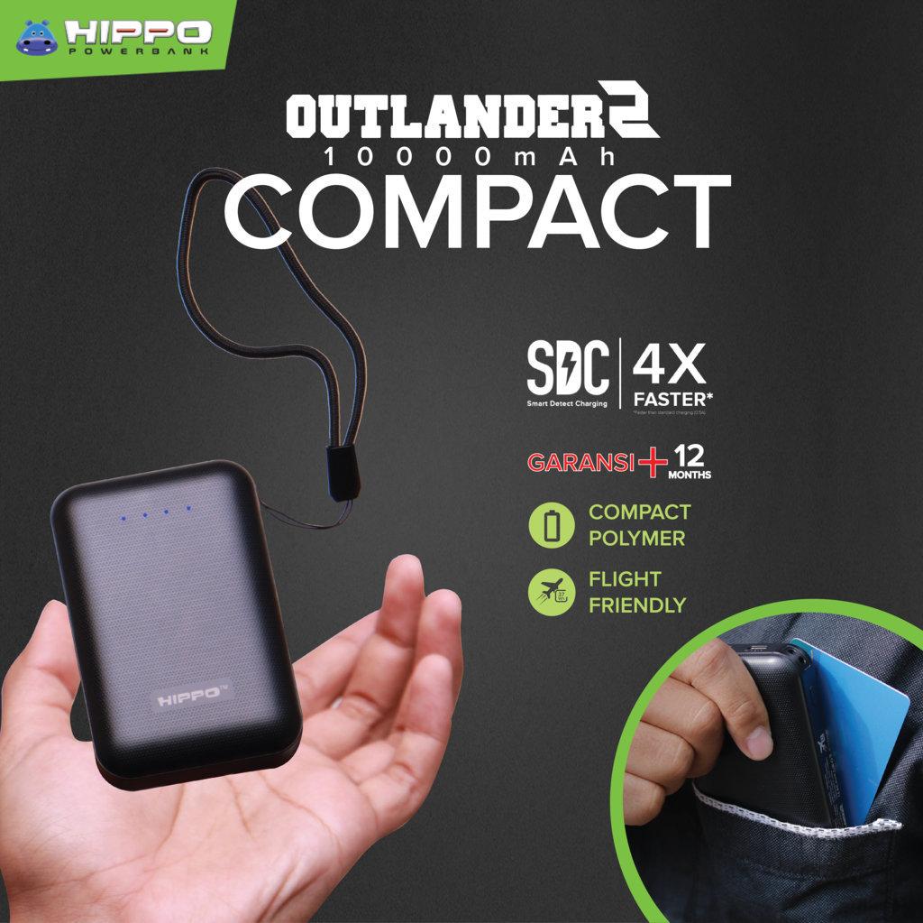 Hippo Outlander2 Compact Yang Mungil
