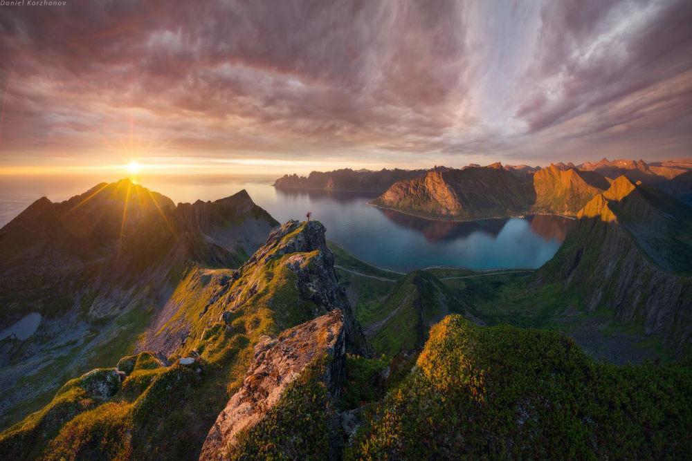 Остров Сенья. Полночное солнце