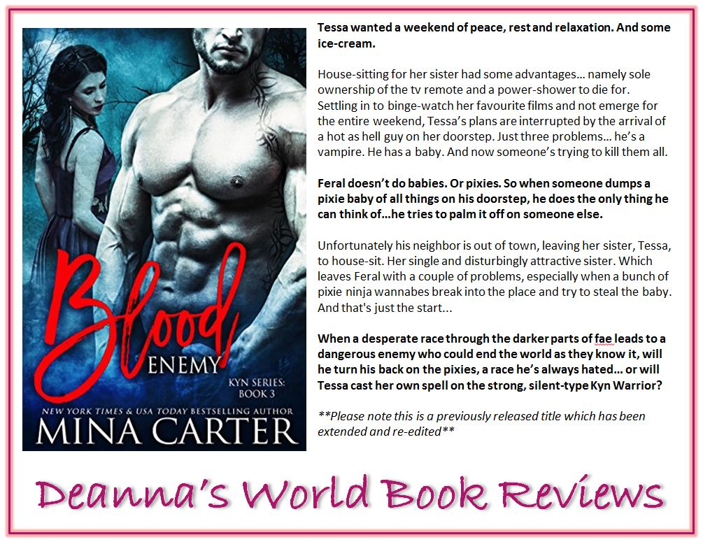Blood Enemy by Mina Carter blurb