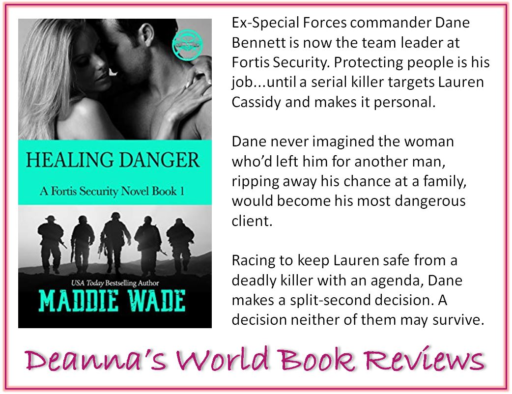 Healing Danger by Maddie Wade blurb
