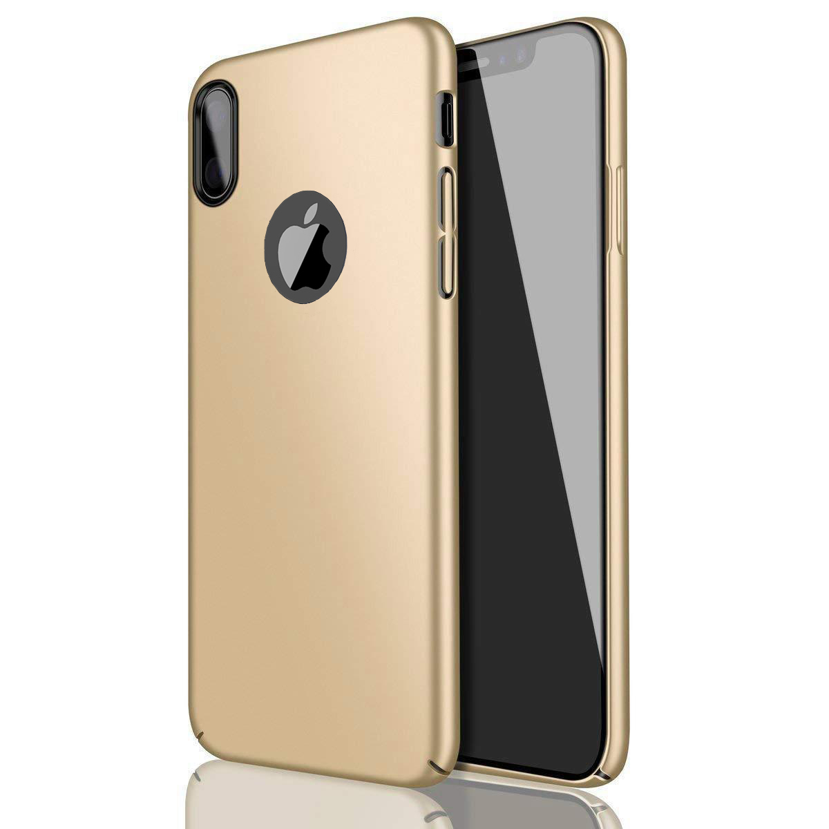 Thin-Slim-Hard-Case-Tempered-Glass-Cover-For-Apple-iPhone-X-XS-XR-Max-10-8-7-6s miniatuur 72