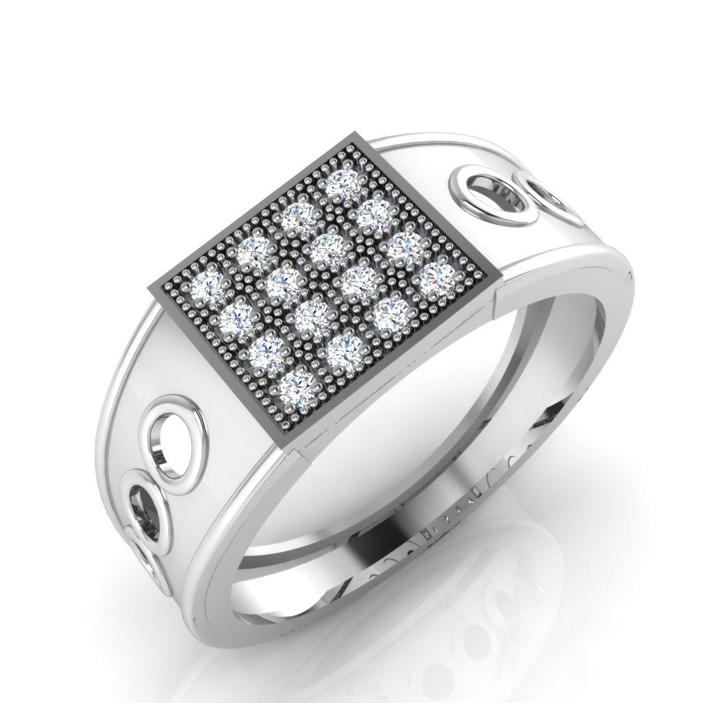 The Jasbir Diamond Mens Ring