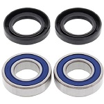 Front Wheel Bearings and Seals Kit Kawasaki Mule 500 1991-1995