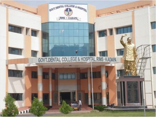 Government Dental College and Hospital, RIMS, Kadapa