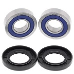 Front Wheel Bearings and Seals Kit Honda CBR600F4i 2001 2002 2003 2004 2005 2006