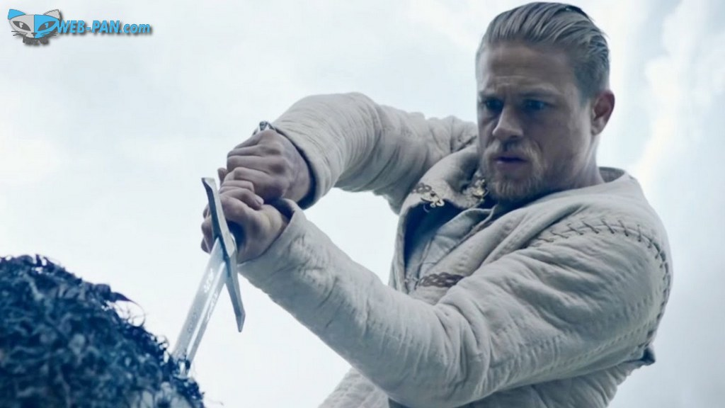 Премьера хорошего фильма про Меч короля Артура, отменный боевик в непрекращающемся экшен-стиле от Гая Риччи!