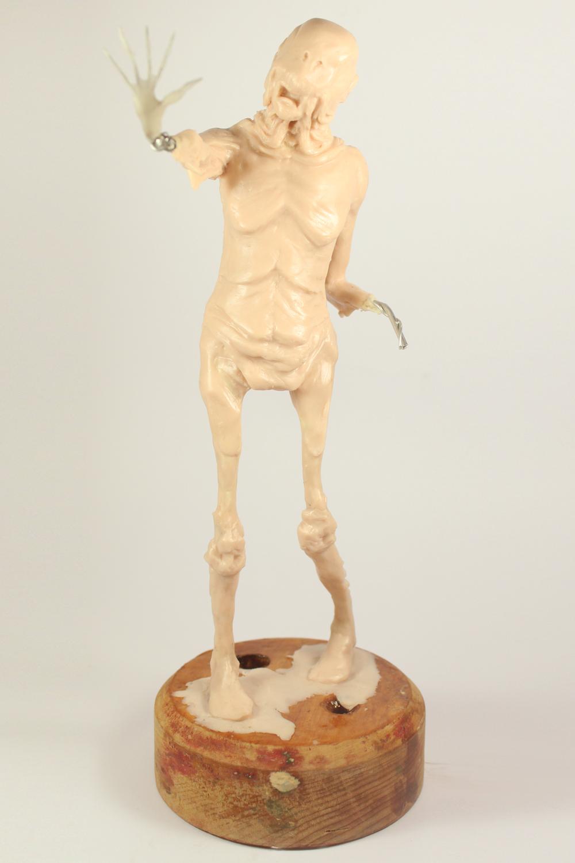 Pale Man sculpture by Julie Sharpe