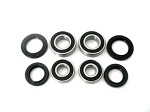 Both Front Wheel Bearings and Seals Kit Honda TRX300 Fourtrax 2WD 1988-1992
