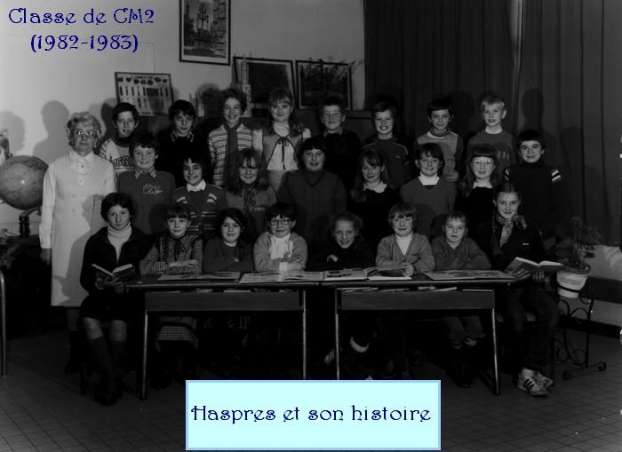 Une classe d'Haspres