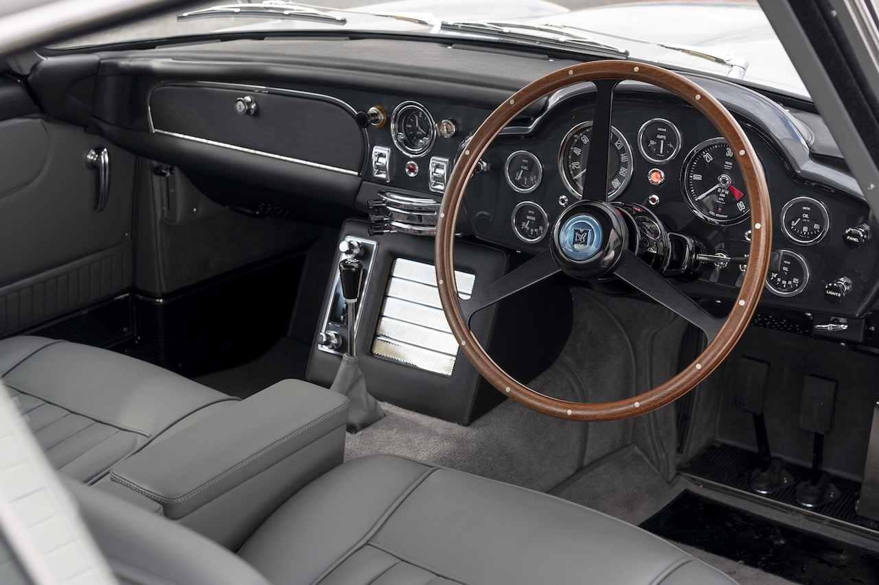 First new Aston Martin DB5 in 50 years rolls off the line