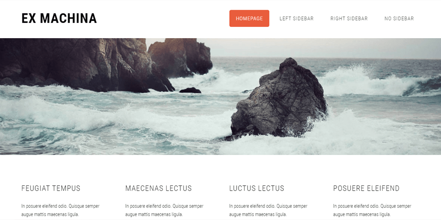 Ex-Machine – Simple Magazine Template
