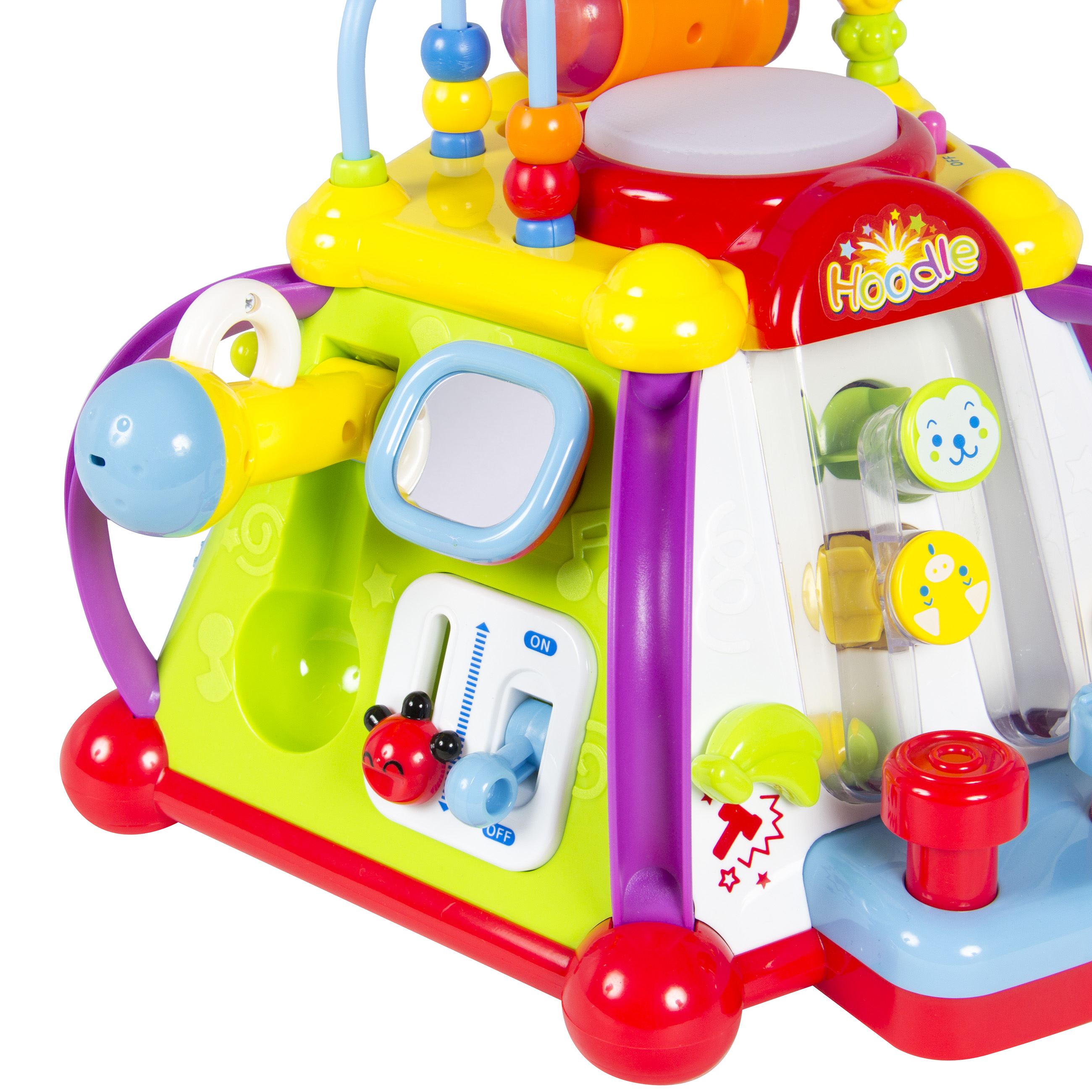 BCP Kids Musical Learning Activity Cube Toy w/ 15 Features ...