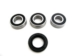 Rear Wheel Bearings and Seal Kit Yamaha YZ250 1980