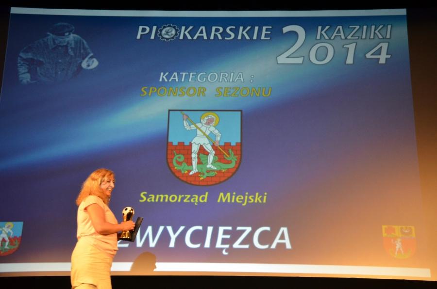 Piłkarskie Kaziki 2014 - Samorząd Miejski zwycięzcą w kategorii Sponsor sezonu