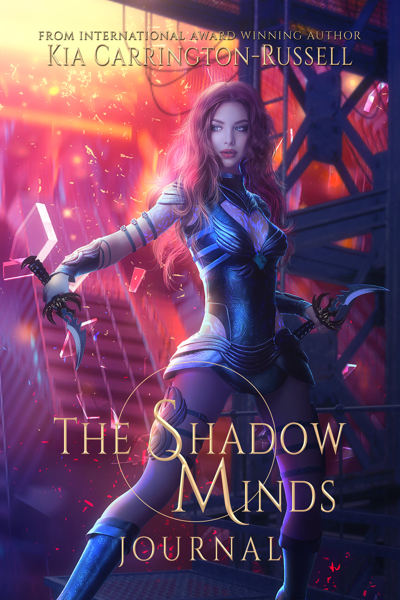 The Shadow Minds Journal by Kia Carrington-Russell