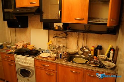 Беспорядок на кухне, устраняю сам!