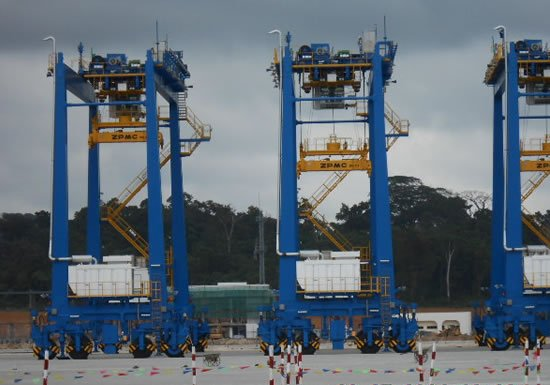 Kribi deep seaport construction Cameroun