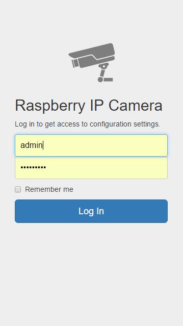 Secured Login Page