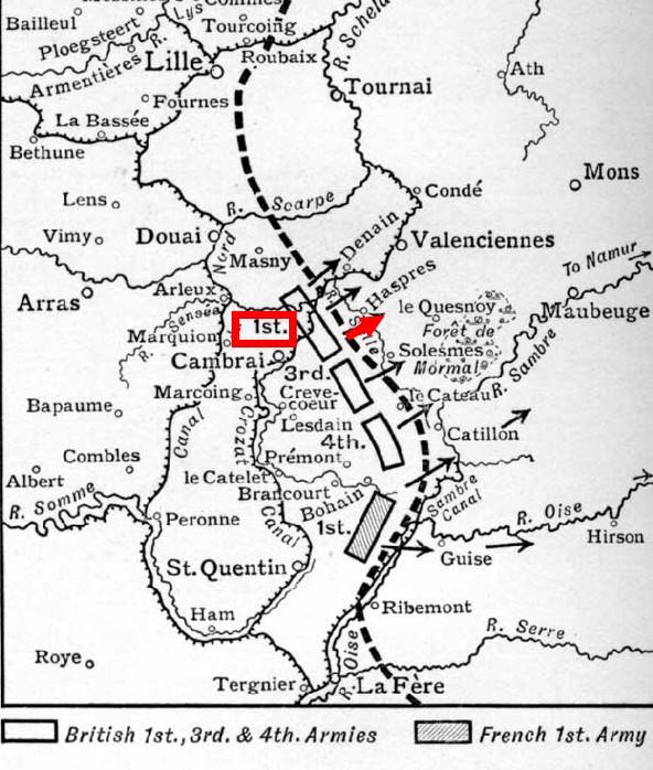 Haspres, octobre 1918