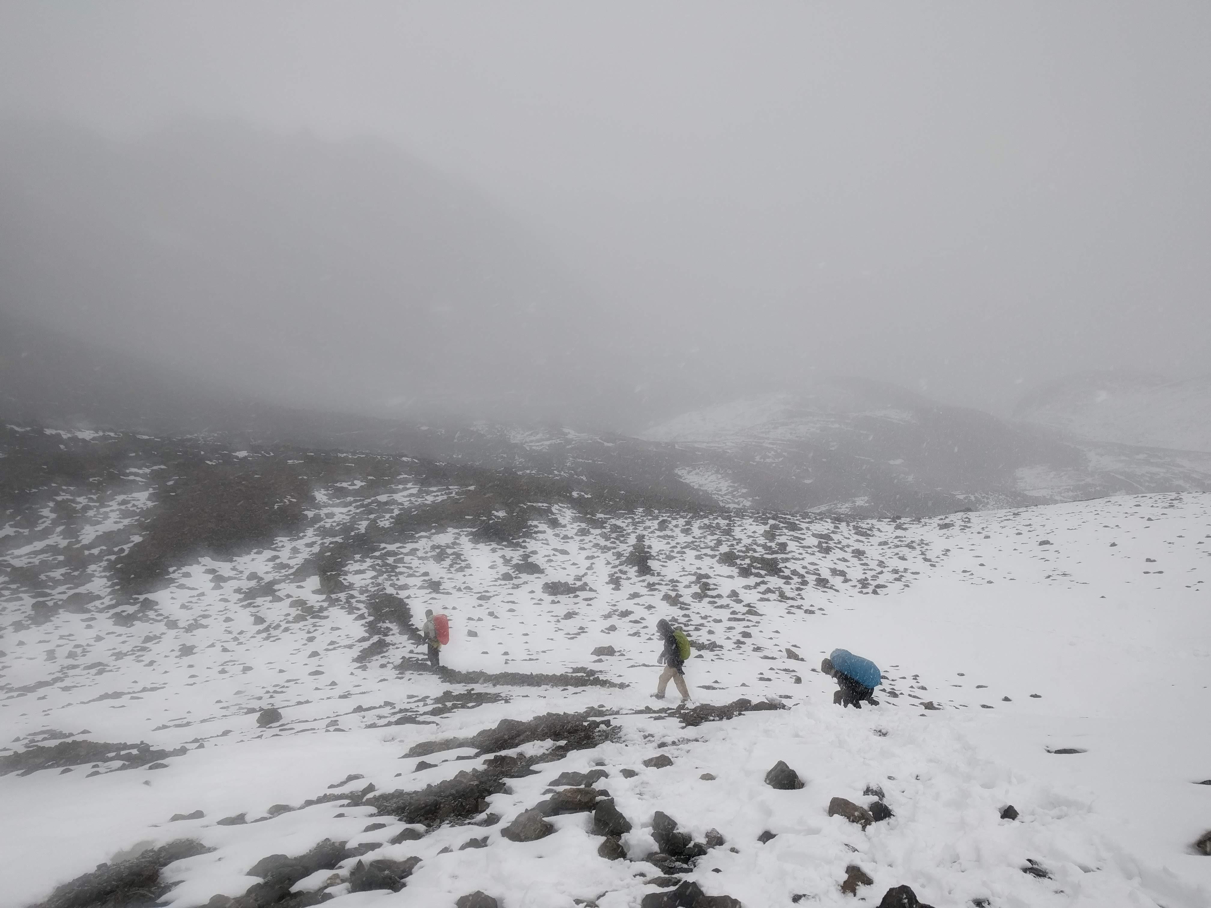 sneeuwwandeling