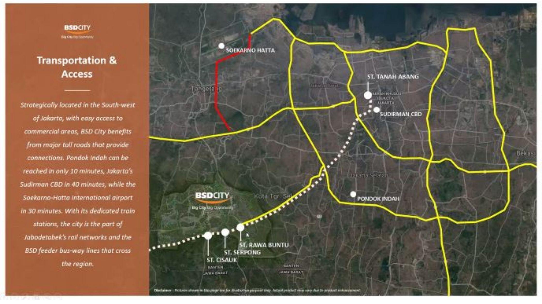 Transportation Access BSD City