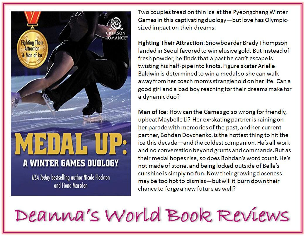 Medal Up by Nicole Flockton and Fiona Marsden blurb