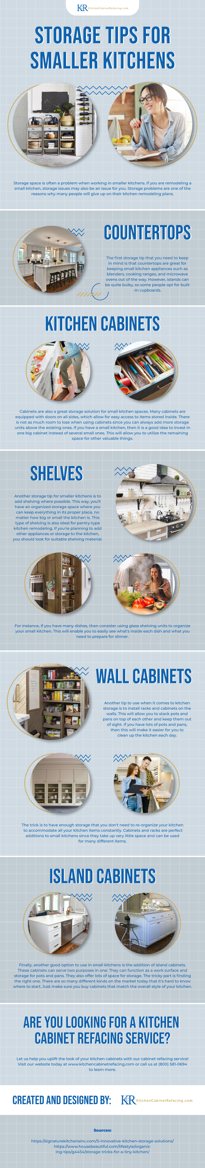 Storage Tips for Smaller Kitchens