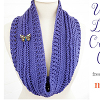 Ups and Downs Crochet Cowl thumbnail