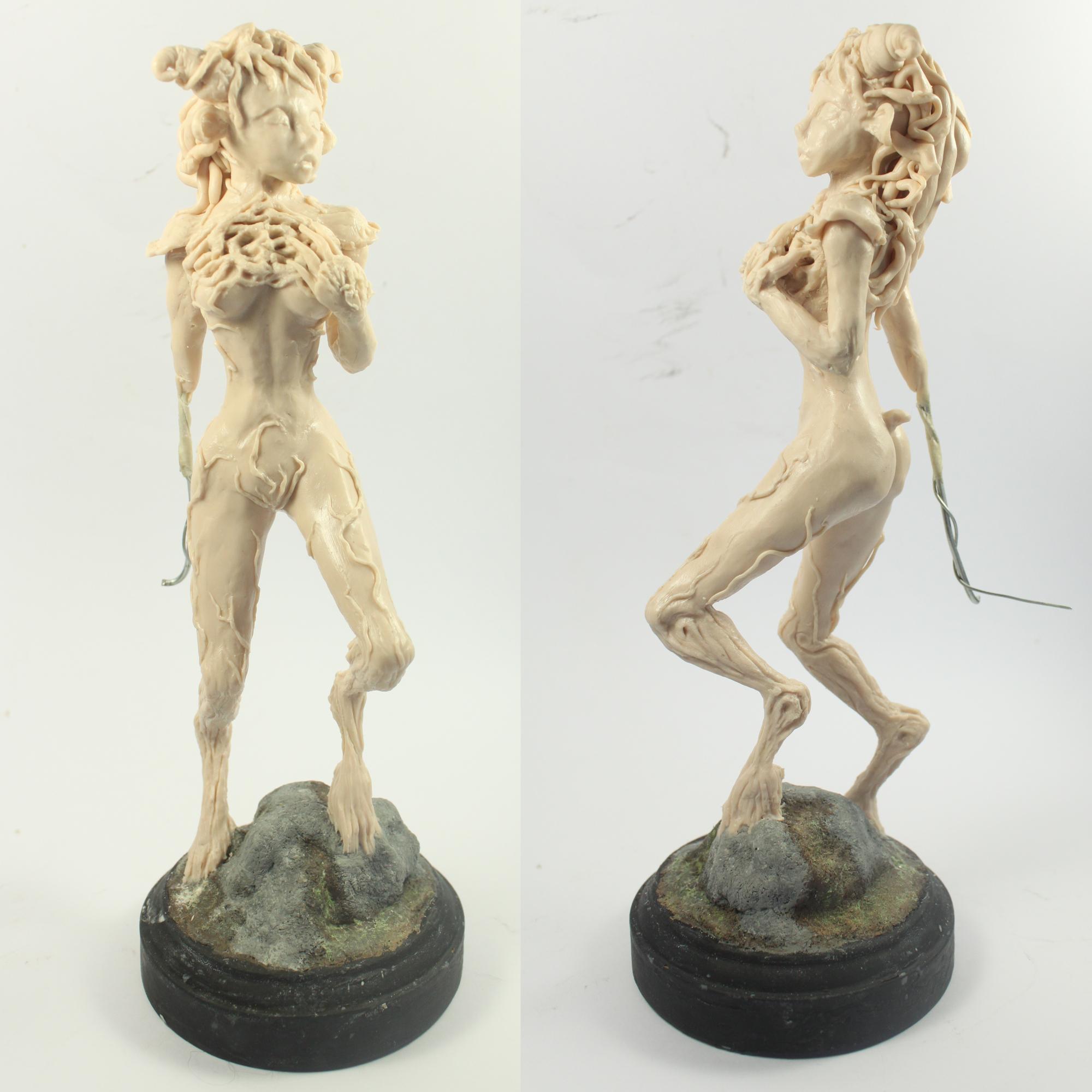 Female Faun Update by Julie Sharpe