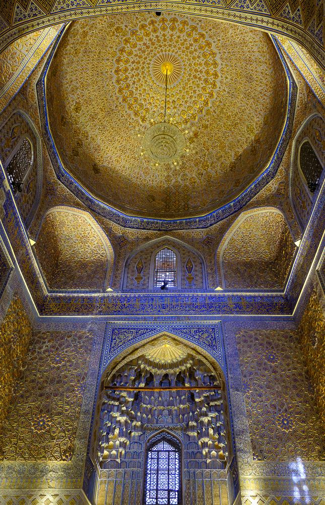 Het Registan heeft het meest indruk op ons gemaakt.