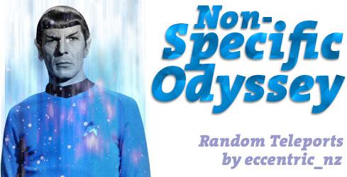 Non-Specific Odyssey