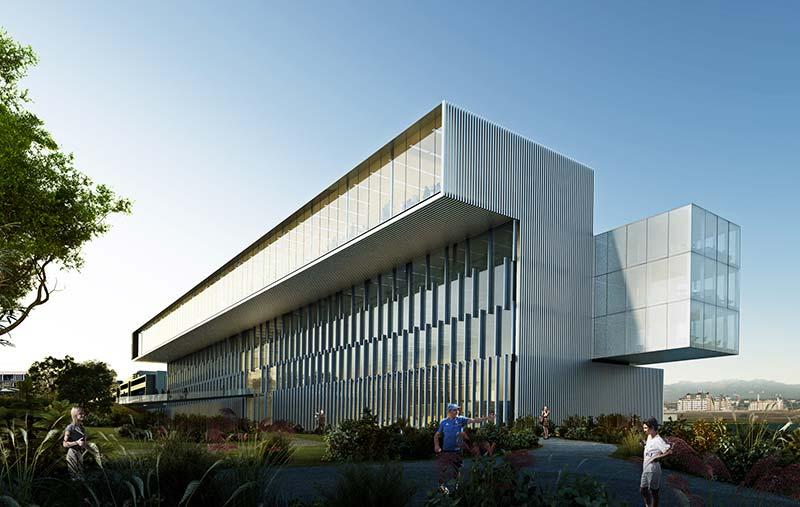 Rafael de La-Hoz designs the new corporate office building in Ciudad Real Madrid