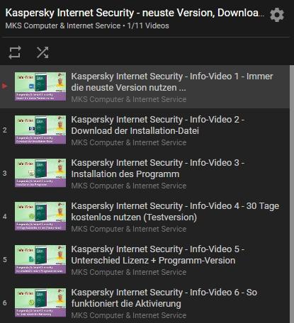 Durch die Videos auf YouTube lässt sich das Fachwissen - z. B. gebündelt in einer Playlist - wunderbar teilen.