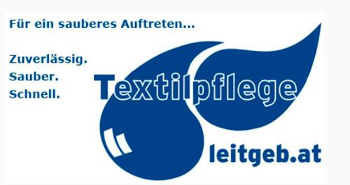 Logo - Textilpflege Leitgeb