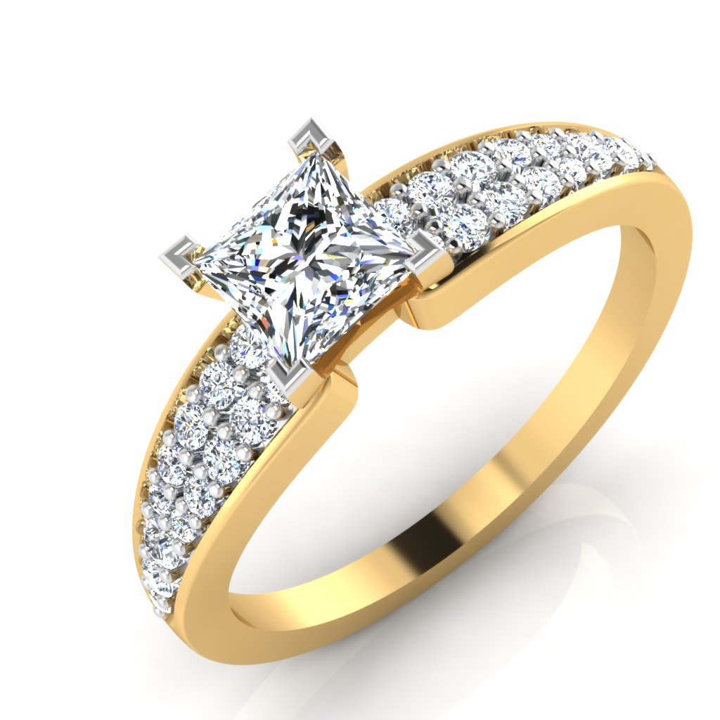 The Espousal Princess Solitaire Ring