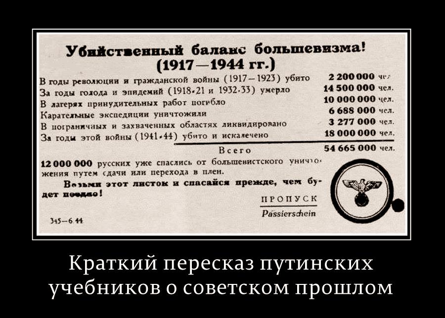 О цитате Гитлера из запрещенной в России книги в статье Путина