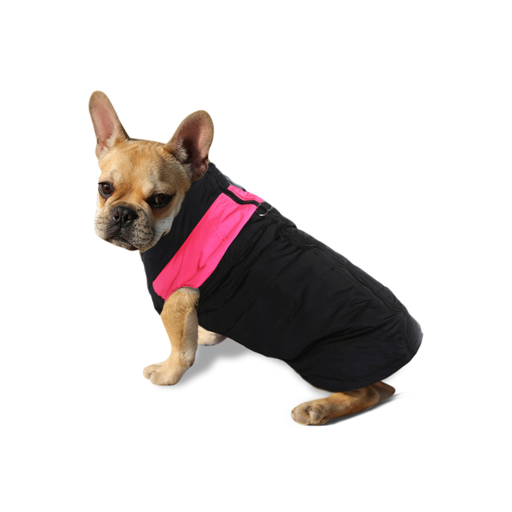 Dog Jacket Padded Waterproof Pet Clothes Warm Pink Extra Extra Large