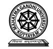 School of Social Sciences, Mahatma Gandhi university, Kottayam Image