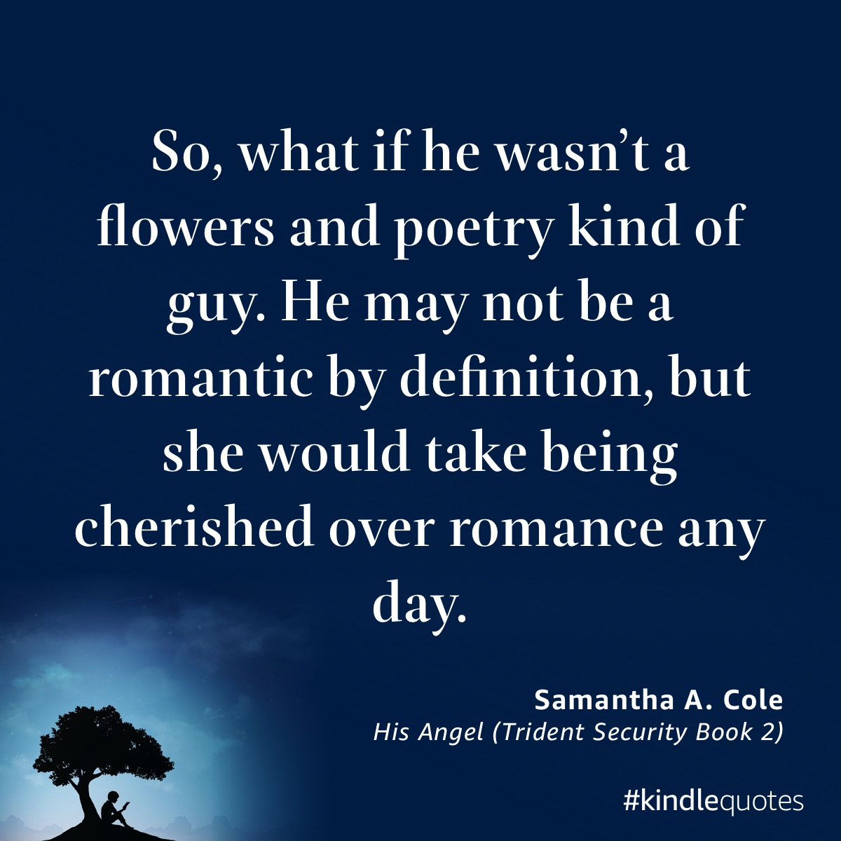 Book quote Samantha A Cole