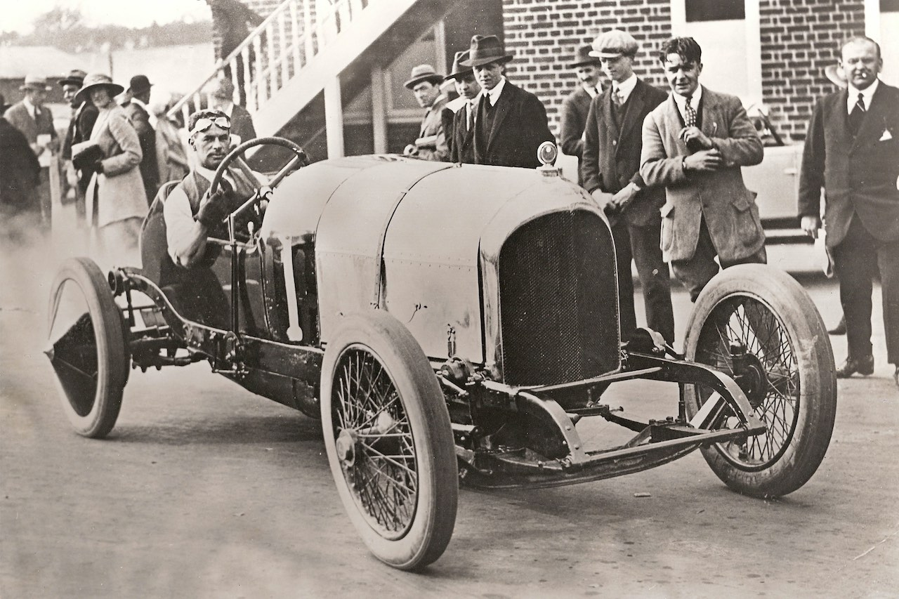 100 years since Bentley's first ever race win at Brooklands