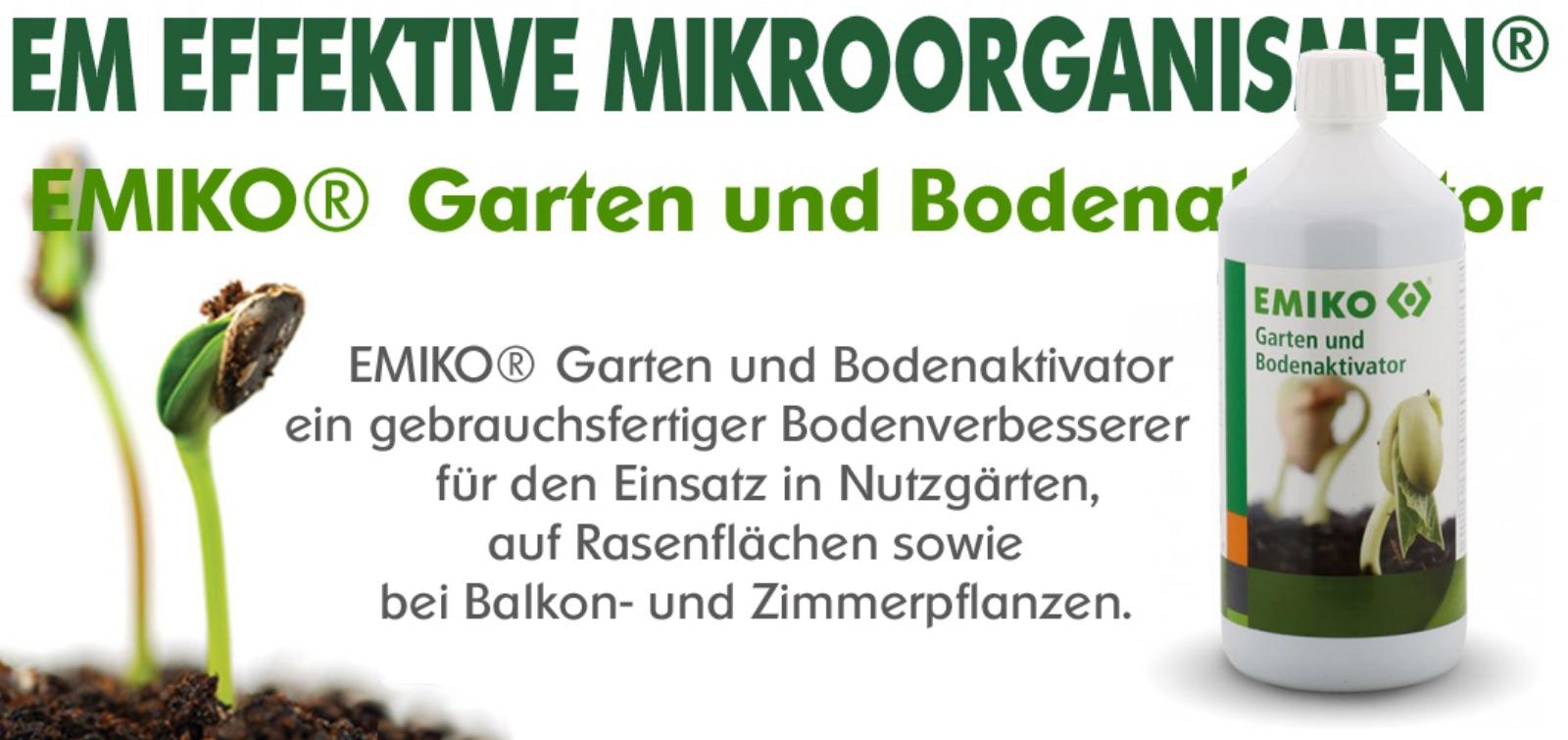 EMIKO® Garten und Bodenaktivator
