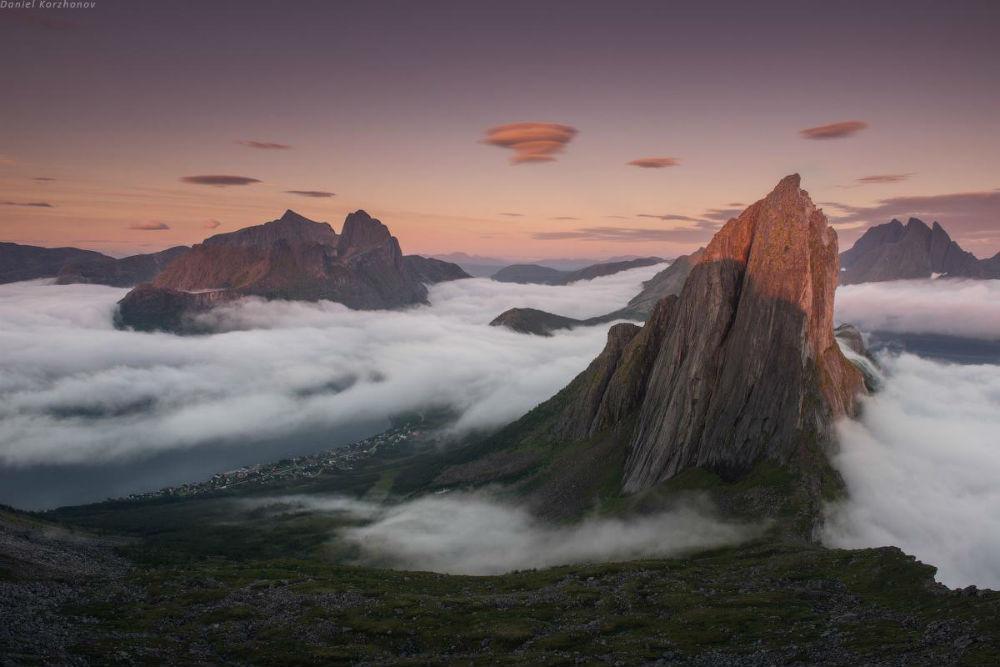 Остров Сенья. Гора Сегла