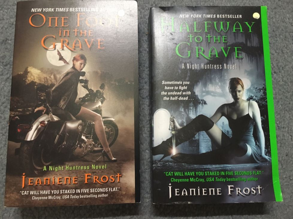 Jeaniene Frost book swag 2