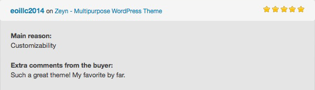 Zeyn - Multipurpose WordPress Theme - 7