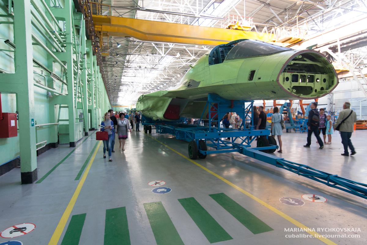 Су-34 на стапеле